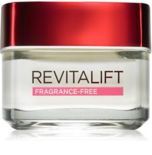 L'Oréal Paris Revitalift Fragrance - Free дневен крем против бръчки