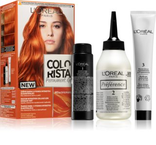 L'Oréal Paris Colorista Permanent Gel coloration cheveux permanente