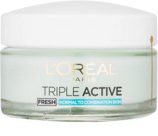 L'Oréal Paris Triple Active Fresh gel krema za normalnu i mješovitu kožu lica