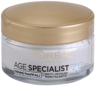 L'Oréal Paris Age Specialist 35+ crème de jour anti-rides