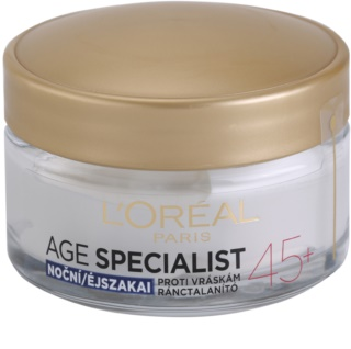 L'Oréal Paris Age Specialist 45+ krema za noć protiv bora