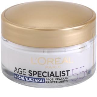 L'Oréal Paris Age Specialist 55+ crème de nuit anti-rides