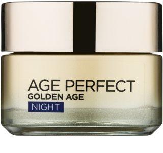 L'Oréal Paris Age Perfect Golden Age crème de nuit anti-rides pour peaux matures