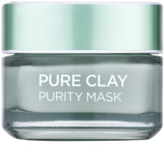 L'Oréal Paris Pure Clay καθαριστική ματ μάσκα