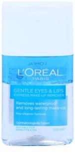 L'Oréal Paris Gentle Augen- und Lippen-Foundation Entferner für empfindliche Haut