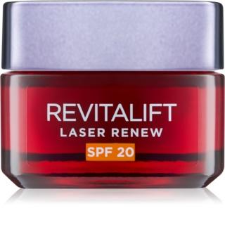 L'Oréal Paris Revitalift Laser Renew creme de dia antirrugas SPF 20