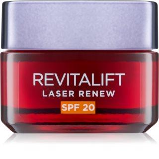 L'Oréal Paris Revitalift Laser Renew crema de zi anti-rid SPF 20