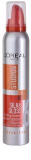 L'Oréal Paris Studio Line Silk&Gloss Curl Power espuma para formação de ondas