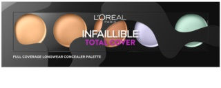 L'Oréal Paris Infallible Total Cover paleta corectoare