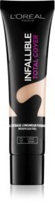 L'Oréal Paris Infallible Total Cover fondotinta lunga tenuta effetto opaco