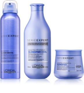 L'Oréal Professionnel Serie Expert Blondifier conditionnement avantageux I. (pour les cheveux blonds froids ayant subi une décoloration ou un balayage)