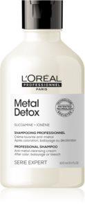 L'Oréal Professionnel Serie Expert Metal Detox Syväpuhdistava Selkeyttävä Hiustenpesuaine Värjäyksen Jälkeen