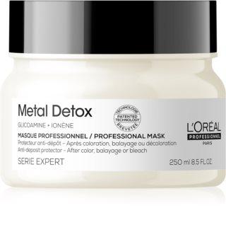 L'Oréal Professionnel Serie Expert Metal DX maska głęboko odżywiająca po farbowaniu