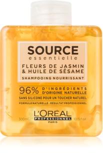 L'Oréal Professionnel Source Essentielle Jasmine Flowers & Sesame Oil Shampoo mit ernährender Wirkung für trockenes und empfindliches Haar