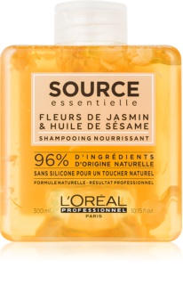 L'Oréal Professionnel Source Essentielle Jasmine Flowers & Sesame Oil vyživující šampon pro suché a zcitlivělé vlasy