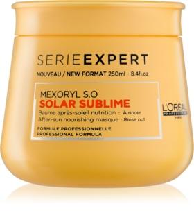 L'Oréal Professionnel Serie Expert Solar Sublime tápláló maszk nap, klór és sós víz által terhelt hajra