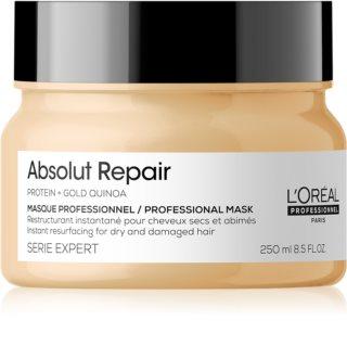 L'Oréal Professionnel Serie Expert Absolut Repair Gold Quinoa + Protein hloubkově regenerační maska pro suché a poškozené vlasy