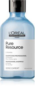L'Oréal Professionnel Serie Expert Pure Resource champú de limpieza profunda para cabello graso