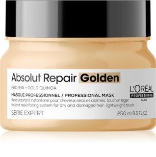 L'Oréal Professionnel Serie Expert Absolut Repair Gold Quinoa + Protein regenerační maska pro suché a poškozené vlasy