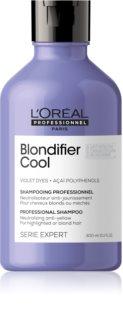 L'Oréal Professionnel Serie Expert Blondifier sampon violet neutralizeaza tonurile de galben