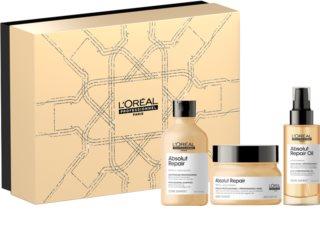 L'Oréal Professionnel Serie Expert Absolut Repair Gold Quinoa + Protein dárková sada (pro suché a poškozené vlasy)