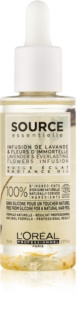 L'Oréal Professionnel Source Essentielle Lavender & Everlasting Flowers Infusion olej pre lesk farbených vlasov