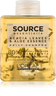 L'Oréal Professionnel Source Essentielle Acacia Leaves & Aloe Essence шампоан за ежедневна употреба За коса