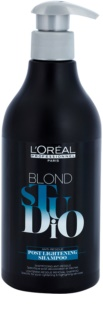 L'Oréal Professionnel Blond Studio Post Lightening Schampo för blekt och tonat hår