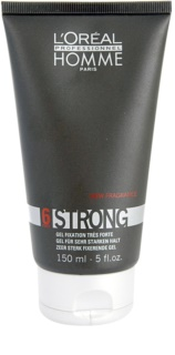 L'Oréal Professionnel Homme 6 Force Strong Hair Styling Gel Extra Strong Hold