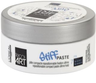 L'Oréal Professionnel Tecni.Art Stiff pasta modeladora com efeito matificante