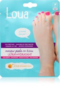 Loua Ulltra-Moisturising Feet Mask Regenerierende Fuß- und Nagelkur