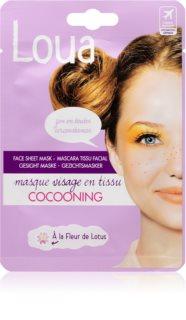 Loua Cocooning Face Mask antistresová plátýnková maska