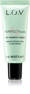L.O.V. PERFECTitude Make-up Primer zum Aufklaren der Haut für empfindliche und gerötete Haut