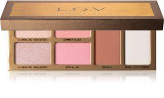 L.O.V. SHAPE x GLOW Palette für das Gesicht