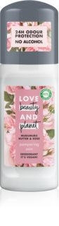 Love Beauty & Planet Pampering desodorante roll-on con bola