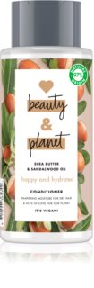 Love Beauty & Planet Happy and Hydrated après-shampoing hydratant pour cheveux secs