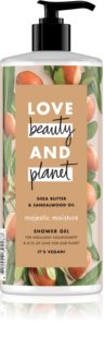 Love Beauty & Planet Majestic Moisture gel de ducha en crema