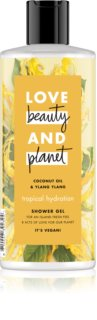 Love Beauty & Planet Tropical Hydration gyengéd tusfürdő gél