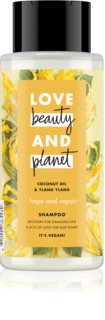 Love Beauty & Planet Hope and Repair champú regenerador para cabello maltratado o dañado