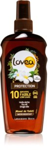 Lovea Protection suchy olejek do opalania SPF 10