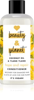 Love Beauty & Planet Hope and Repair acondicionador regenerador para cabello maltratado o dañado