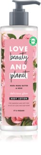 Love Beauty & Planet Delicious Glow leche corporal hidratante