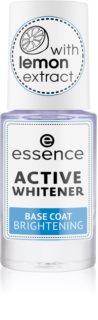 Essence Active Whitener lac intaritor de baza pentru unghii
