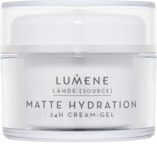 Lumene Lähde [Source of Hydratation] crema hidratante y matificante - gel 24h
