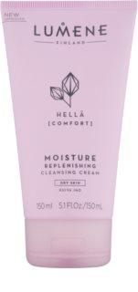 Lumene Cleansing Hellä [Comfort] Creme de limpeza hidratante para pele seca