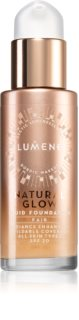 Lumene Natural Glow Fluid Foundation Brightening Foundation for Natural Look SPF 20