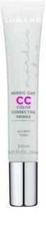 Lumene Nordic Chic CC pré-base para iluminar e unificar a pele