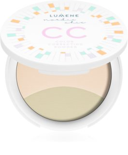 Lumene Nordic Chic CC Creme-Puder zum vereinheitlichen der Hauttöne