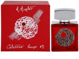 M. Micallef Collection Rouge N°2 eau de parfum campione da donna