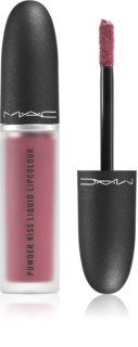 MAC Cosmetics  Powder Kiss Liquid Lipcolour Matter Flüssig-Lippenstift